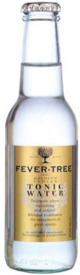 Tónica Fever Tree, botella 20 cl.