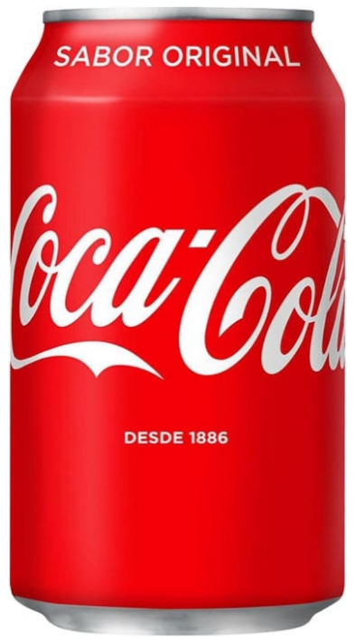 Coca Cola bote 33 cl.